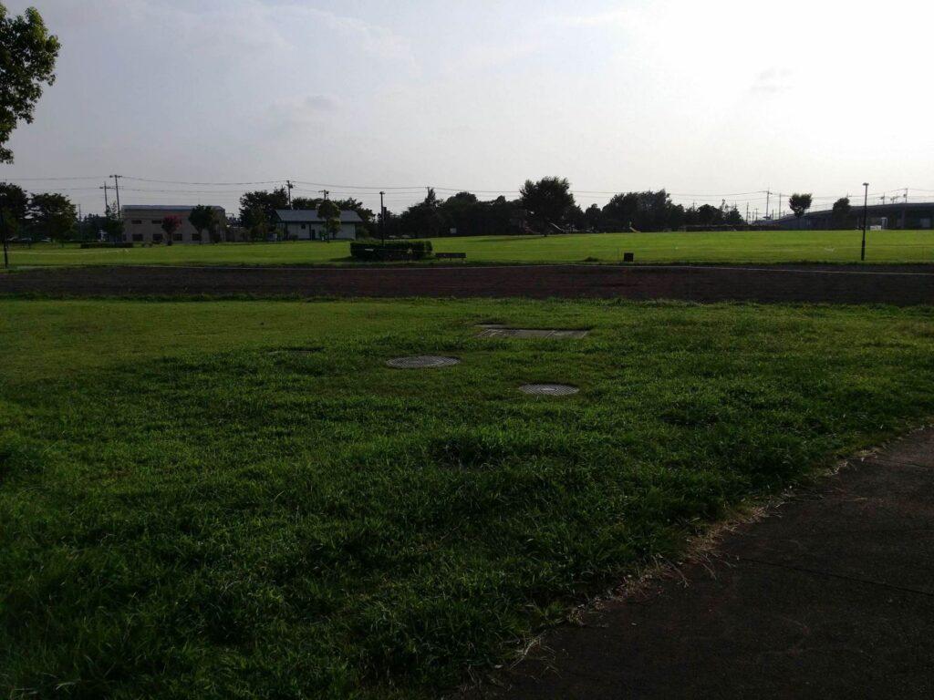 まつぶし緑の丘公園の広場