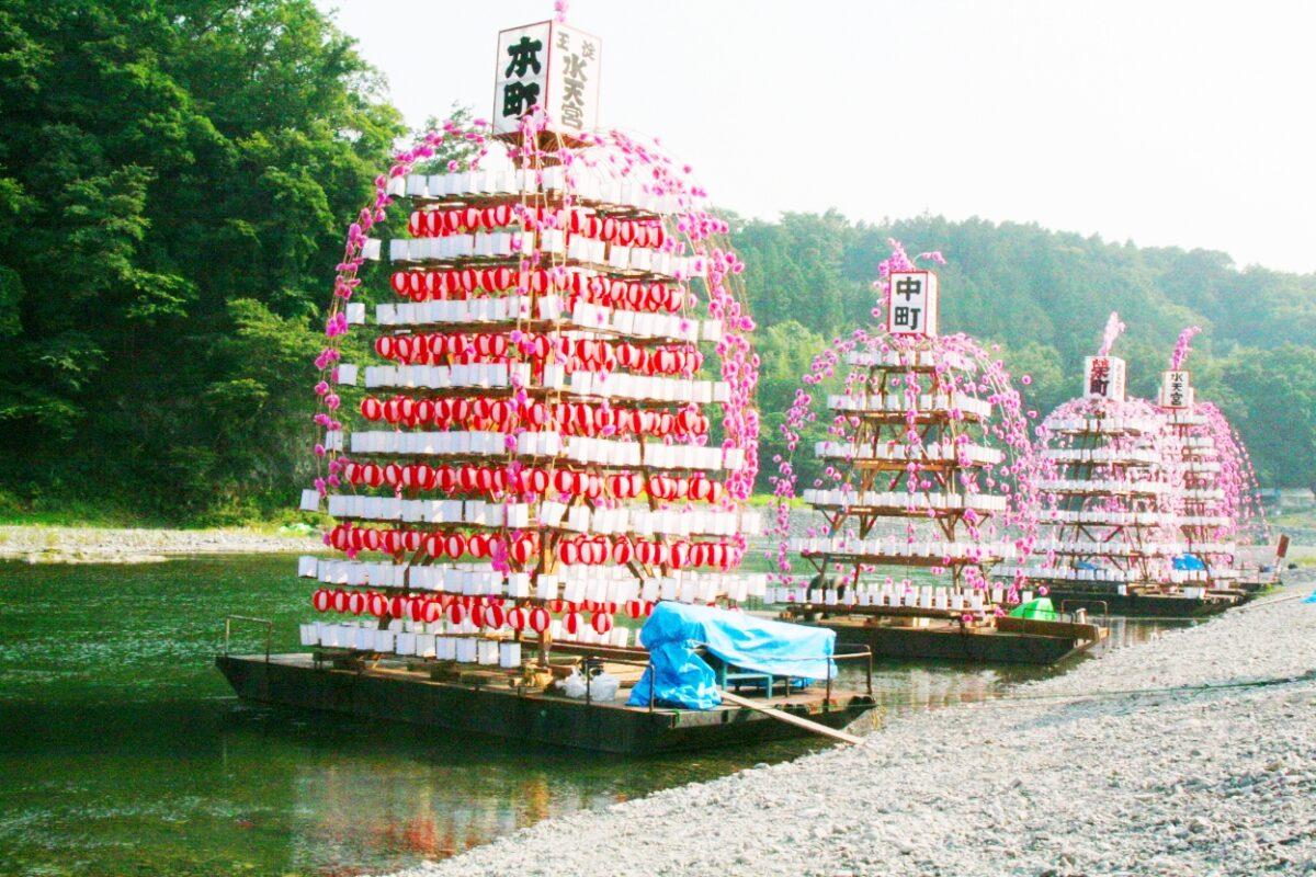 寄居玉淀水天宮祭(寄居町)